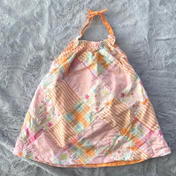NWT Gymboree 0-3 Mos Halter Dress Seashells